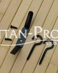 Bambusová roleta 90x200cm HNĚDÁ MAHAGON