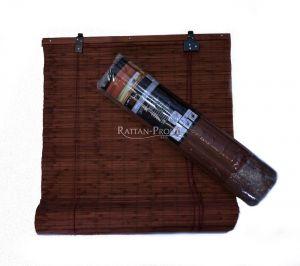 Bambusová roleta 120x150 HNĚDÁ  MAHAGON