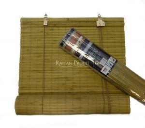 Bambusová roleta 90x200 OŘECH SVĚTLÝ
