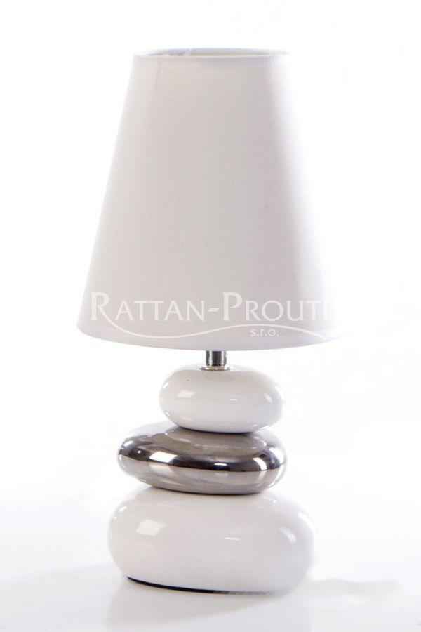 Stolní lampička LORENA bílá