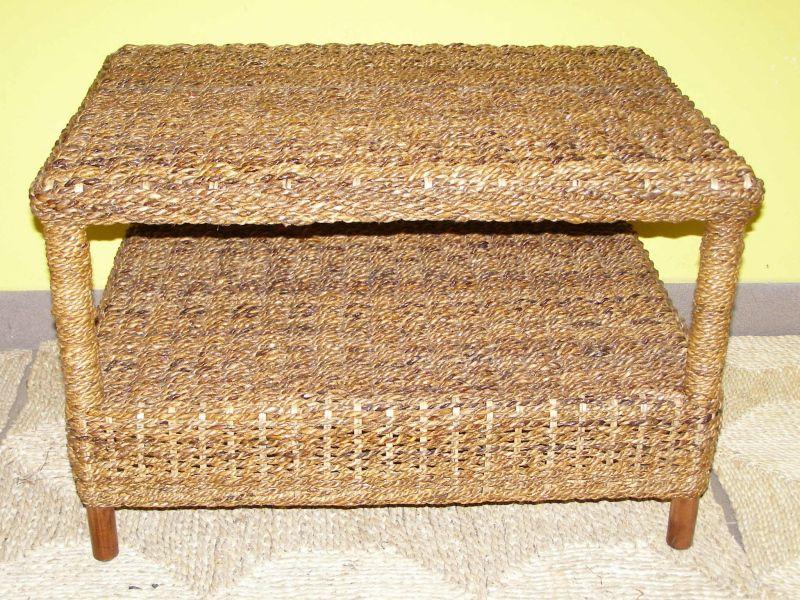 obývací stolek CORUNA - banánový list