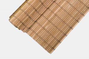 Bambusová rohož na stěnu 70x300 cm Hnědá