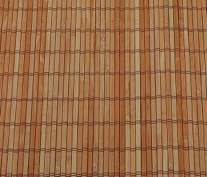 Bambusová rohž na stěnu 150x300 Hnědá