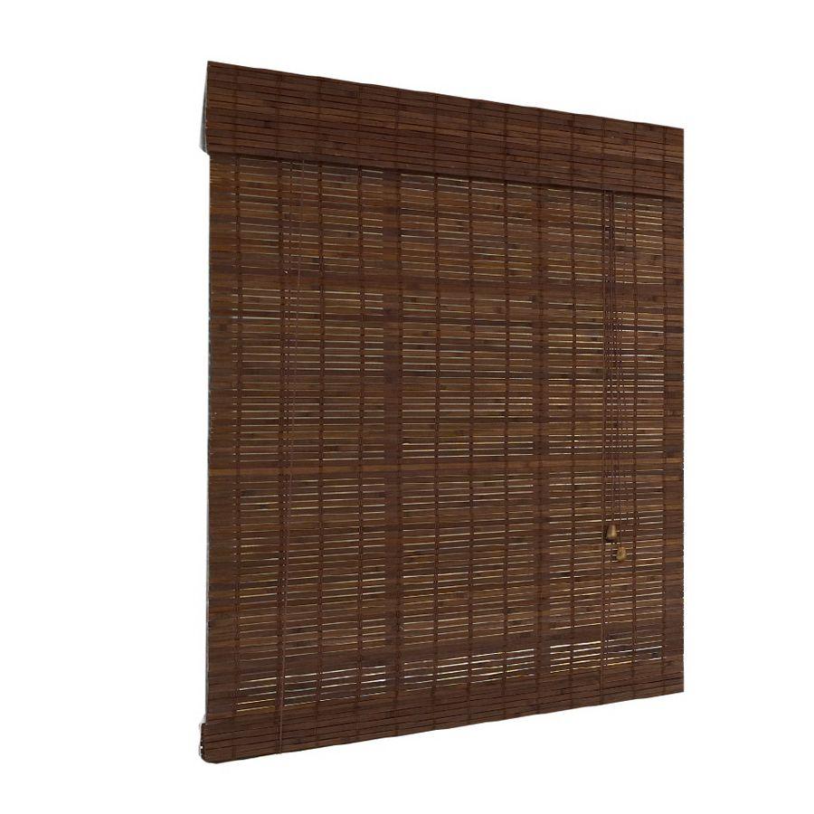 Bambusová roleta 100x250 cm HNĚDÁ MAHAGON