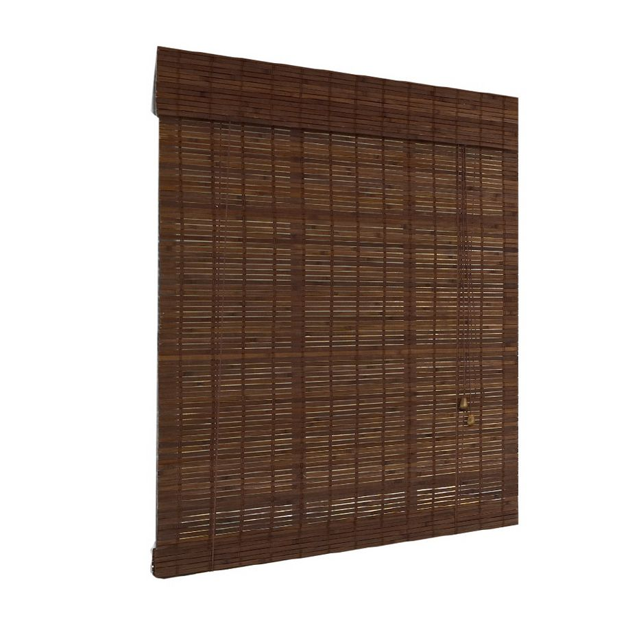 Bambusová roleta 120x250 cm HNĚDÁ MAHAGON