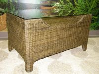 ratanový obývací stolek GARDENA