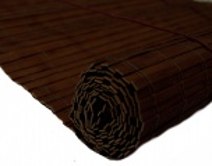 Bambusová roleta HNĚDÁ MAHAGON