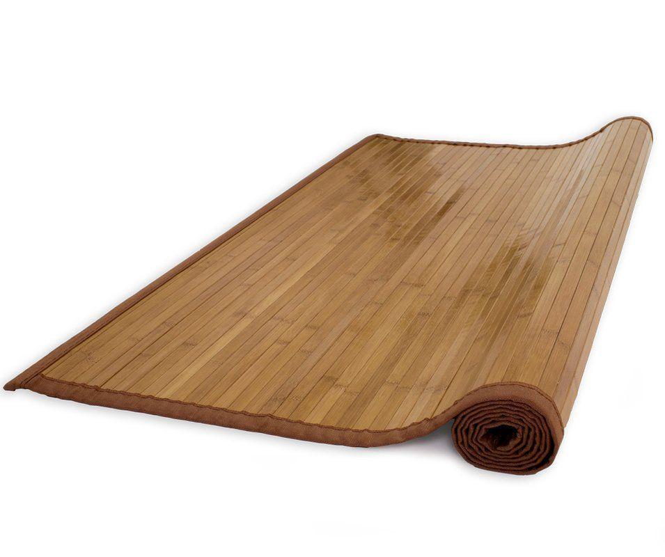 Bambusová rohož 160x300 HNĚDÁ